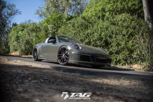 2017 Porsche 911 Targa by TAG Motorsports on HRE Wheels (P104)