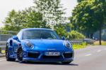 Porsche 911 Turbo S Blue Arrow by Edo Competition 2017 года