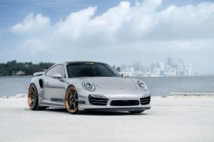 2017 Porsche 911 Turbo S on ADV.1 Wheels (ADV6 TRAC SPEC)