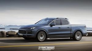 2017 Porsche Cayenne Pickup by X-Tomi Design