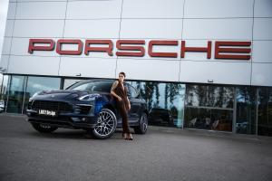 Porsche Macan Blue by Larte Design 2017 года