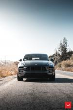 Porsche Macan Turbo on Vossen Wheels (VFS1) 2017 года