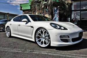 Porsche Panamera 4S on Forgiato Wheels (Drea-M) 2017 года
