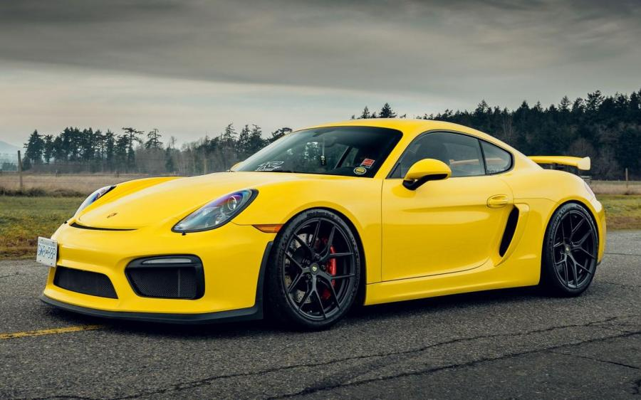 2018 Porsche 718 Cayman GT4 on Vossen Wheels (S21-01)