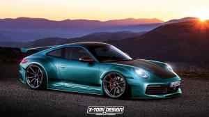Porsche 911 Carrera Widebody by X-Tomi Design 2018 года