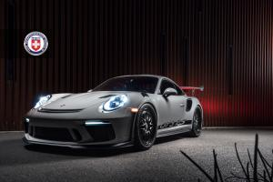 2018 Porsche 911 GT3 RS on HRE Wheels (540C)