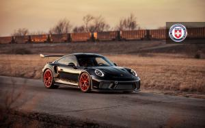 2018 Porsche 911 GT3 RS on HRE Wheels (R101 Lightweight)