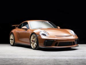 2018 Porsche 911 GT3 Sepia Brown