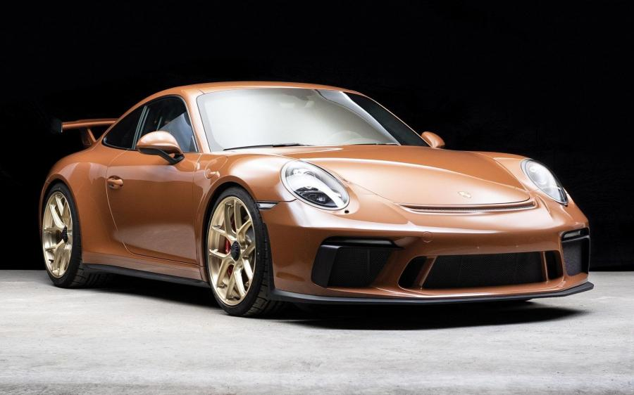 Porsche 911 GT3 Sepia Brown (991) '2018