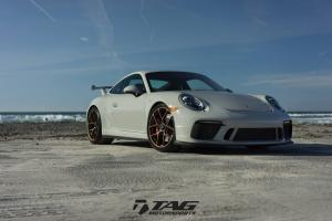 2018 Porsche 911 GT3 by TAG Motorsports on HRE Wheels (R101LW)