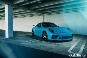 2018 Porsche 911 GT3 by TAG Motorsports on Vossen Wheels (GNS-1)
