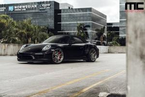 2018 Porsche 911 Turbo S Cabriolet by MC Customs on AG Wheels