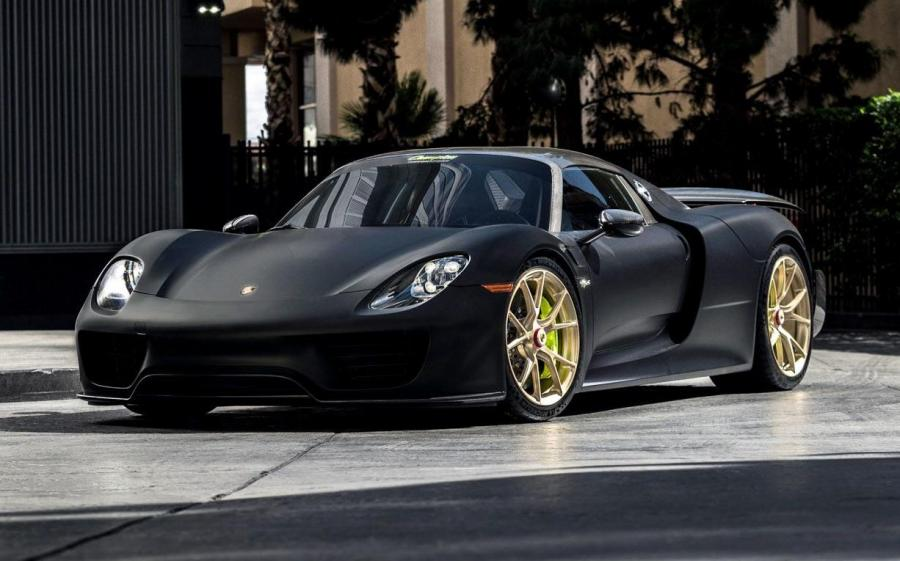 Porsche 918 Spyder by Champion Motorsport on Vossen Wheels (RS74)