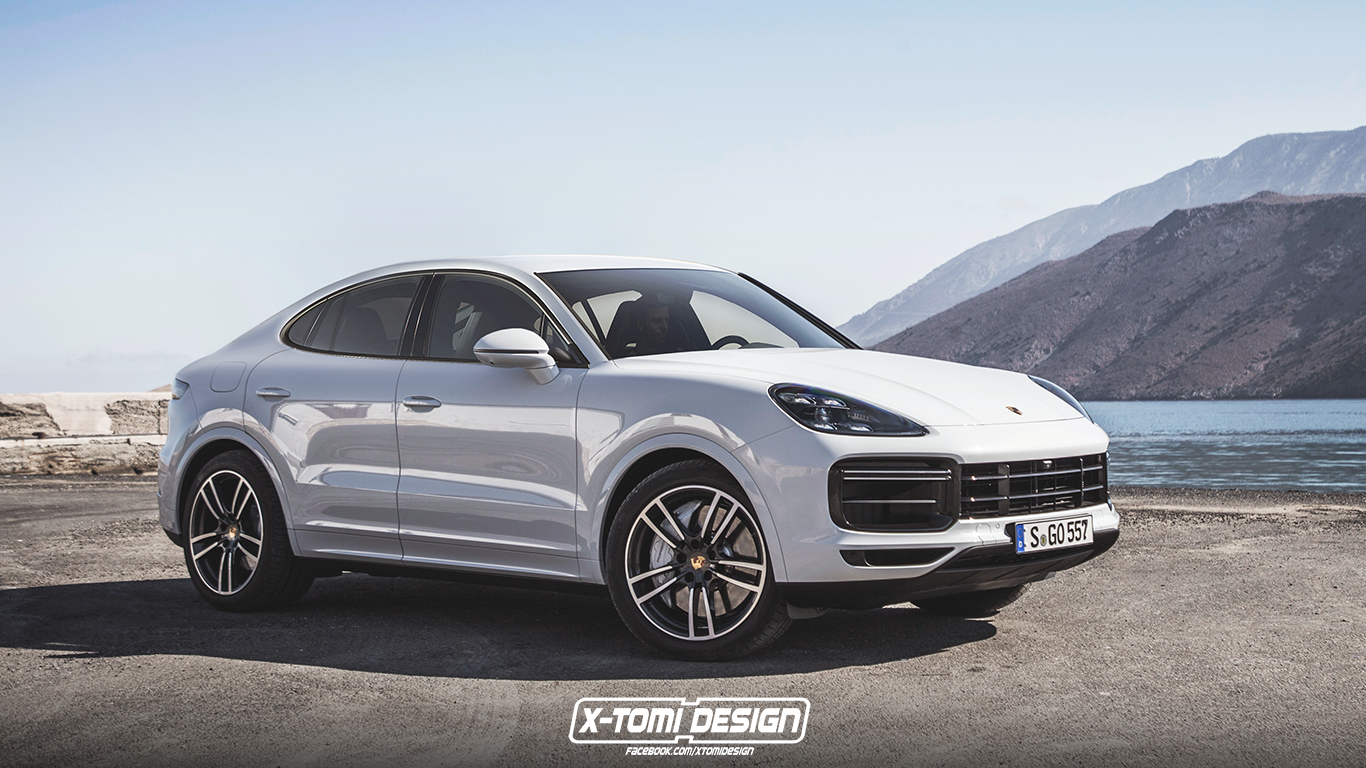 Porsche Cayenne Coupe by X-Tomi Design 2018 года
