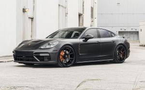 Porsche Panamera Turbo on Forgiato Wheels (S203-ECL) 2018 года