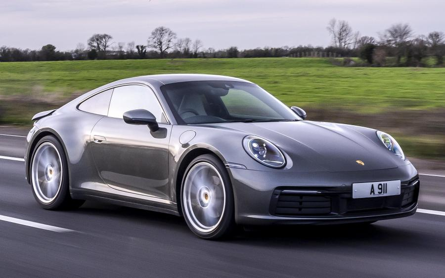 2019 Porsche 911 Carrera (UK)