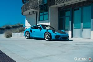 2019 Porsche 911 GT3 RS Miami Blue by TAG Motorsports on Vossen Wheels (S21-RS)