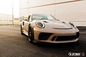 2019 Porsche 911 GT3 RS Silver Metallic by TAG Motorsports on Vossen Wheels (S21-RS)