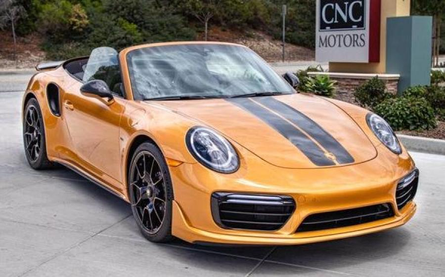 2019 Porsche 911 Turbo S Cabriolet Exclusive Series (NA)