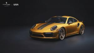 Porsche 911 Turbo S Exclusive Series on Premier Edition Wheels (CSD-F) 2019 года