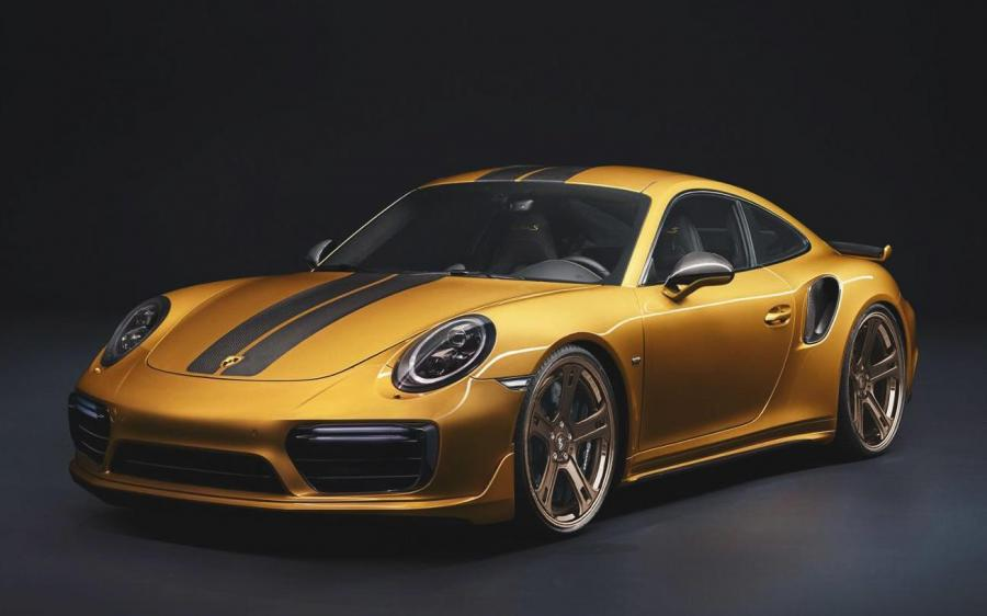 2019 Porsche 911 Turbo S Exclusive Series on Premier Edition Wheels (CSD-F)