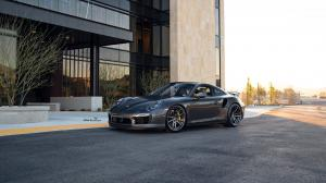 2019 Porsche 911 Turbo S by R1 Motorsport on ADV.1 Wheels (ADV5.2 M.V2 SL)