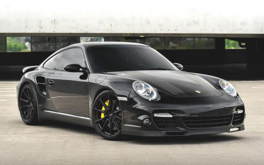 2019 Porsche 911 Turbo on Vossen Wheels (HF-3)