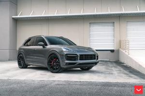 Porsche Cayenne S on Vossen Wheels (HF-3) 2019 года
