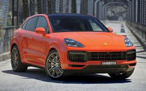 Porsche Cayenne Turbo Coupe 2019 года (AU)