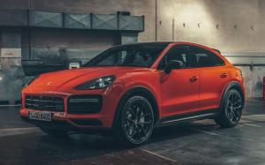Porsche Cayenne Turbo Coupe 2019 года (WW)