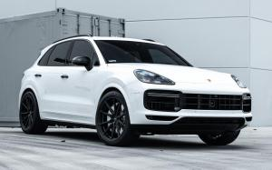 Porsche Cayenne Turbo by TAG Motorsports on Vossen Wheels (HF-3) 2019 года