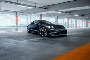Porsche Taycan Turbo by TechArt 2020 года