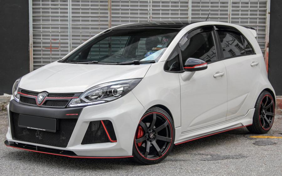 Proton Iriz by SD Aerodynamics Automobile Design '2015