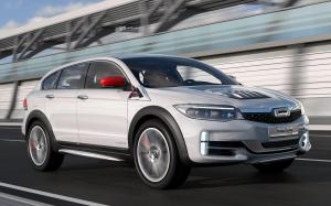 Qoros 3 Estate QamFree Concept 2016 года