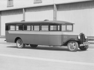 REO Speed Wagon School Bus by Crown Motor Carriage Co. 1931 года