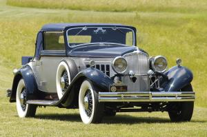 1932 REO 8-350 Royale Convertible Coupe