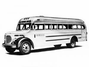1948 REO Speed Wagon Oneida Safety School Bus