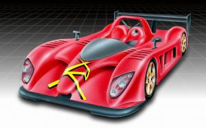 Radical SR9 LMP2 Drawings