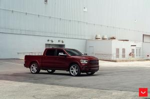 Ram 1500 Sport Crew Cab on Vossen Wheels (HF6-2) 2019 года