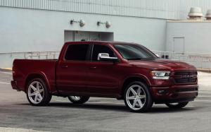 2019 Ram 1500 Sport Crew Cab on Vossen Wheels (HF6-2)