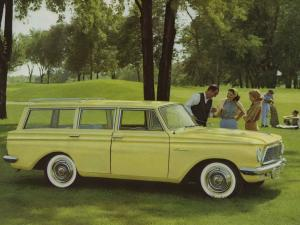 Rambler American Custom Station Wagon 1961 года