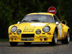 Renault Alpine A110 1800 Group 4 1973 года