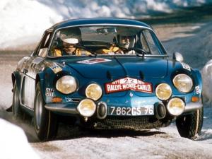 1973 Renault Alpine A110 Rally Car