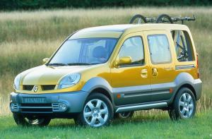 Renault Kangoo Break Up 2002 года