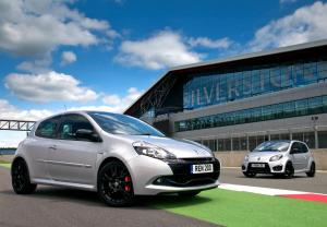 Renault Clio RS 200 Silverstone GP 2011 года