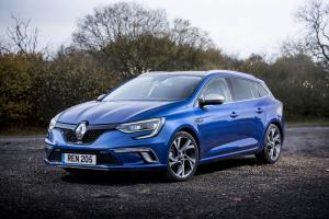 Renault Megane Estate GT 2016 года (UK)