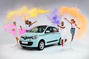 Renault Twingo The Color Run 2016 года