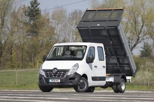 Renault Master Double Cab Tipper 2018 года