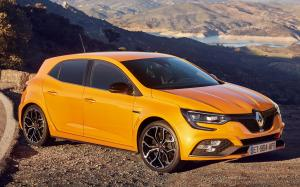 Renault Megane R.S. Sport chassis 2018 года (WW)