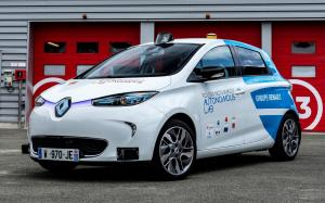 Renault Zoe Robot Taxi Experimentation Vehicle '2018
